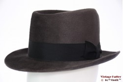 Gents hat Steco grey soft velour 56