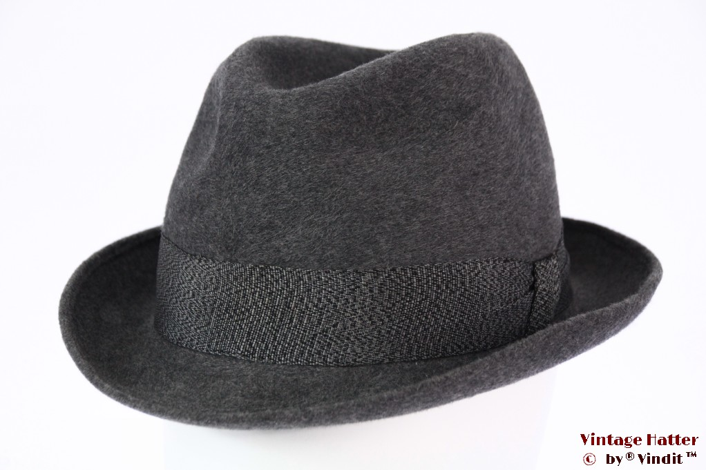 Fedora Extra-Extra grey fur felt 56,5