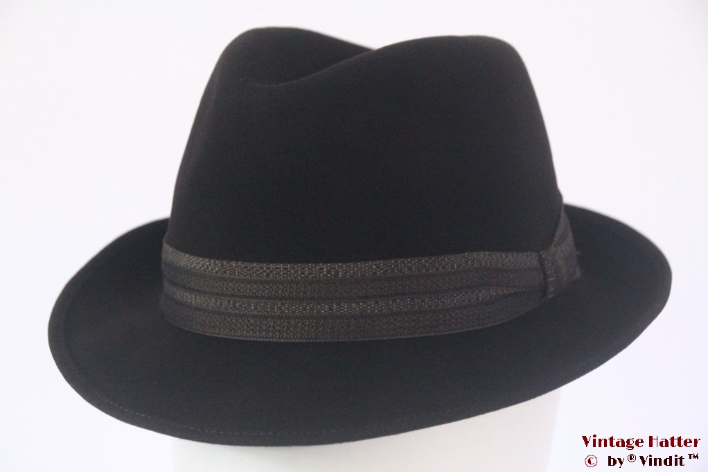 Fedora Stadio dark grey felt 56