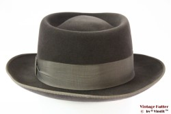 Gambler hat Lord grey velour 55 (S)