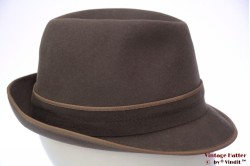 Classic Trilby Henry Morell grey felt 56
