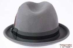 Brixton Gain adjustable fedora grey 60-62 (XL) [New Sample]