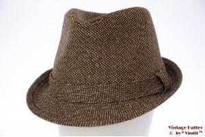 Trilby Hawkins tweed-style brown 60 [new]