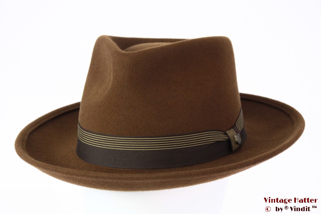 Fedora Brixton Swindle IV coffee brown 58,5 (M) [New Sample]
