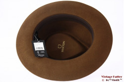 Fedora Brixton Swindle IV coffee brown 58,5 (M) [New Sample]