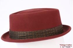Brixton Stout adjustable Porkpie redish brown 55-56 (S) [New Sample]