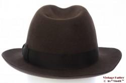 Fedora Wegener dark brown 55 (S)
