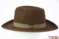 Fedora Bosalino soft brown felt 59