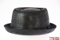 Porkpie hat Hawkins black rough look 59 [new]