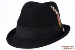 Brixton Gain adjustable fedora black 54-56 (S) [New Sample]