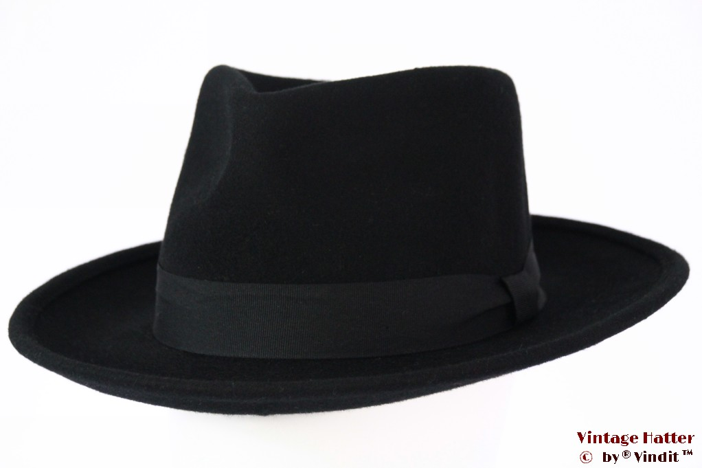 Fedora Brixton Strummer black felt 58 [New Sample]