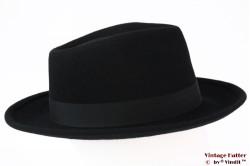 Fedora Brixton Strummer black felt 58 [New Sample]