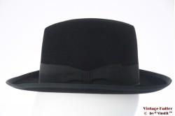 Homburg hoed Wegener Extra zwart vilt 55 (S)
