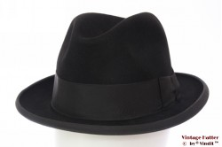 Homburg hat Brabant black felt 57