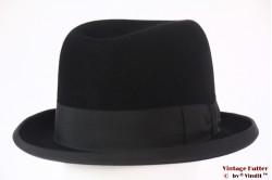 Homburg hoed Breiter München zwart vilt 61 (XXL)