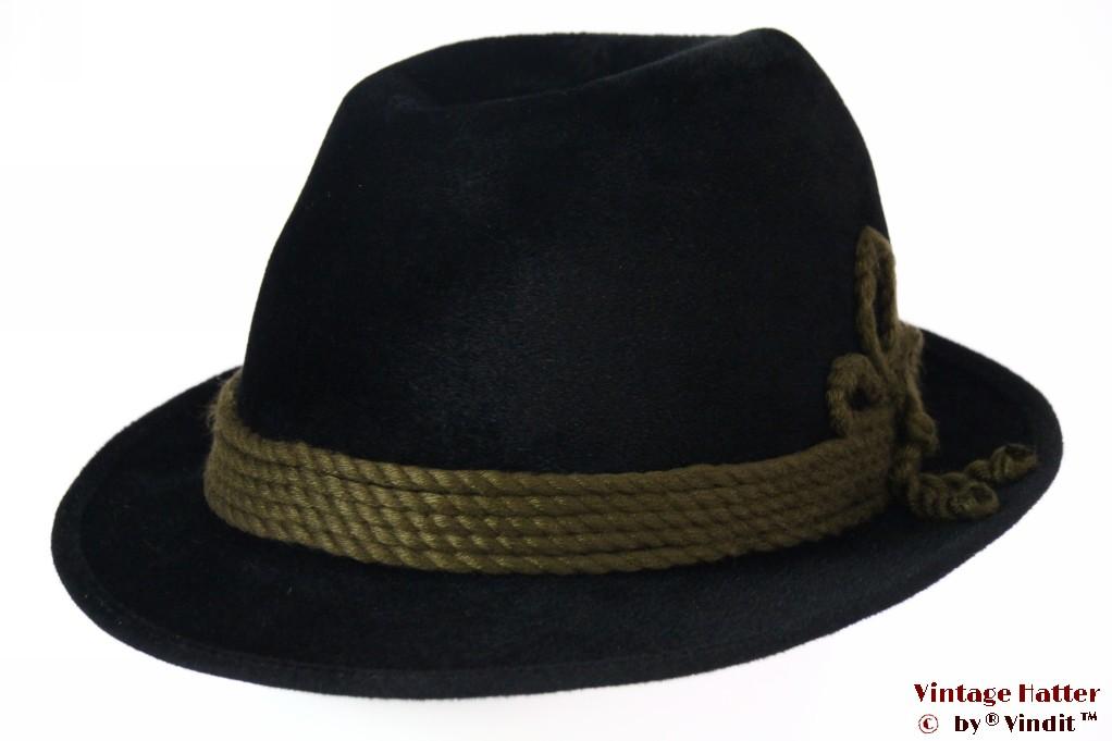 Hunting hat Wegener black fur felt 59,5