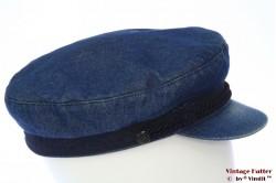 Captains cap Elbsegler denim blue 57,5
