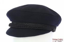Captains cap Elbsegler dark blue 57