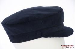 Captains cap Hawkins dark blue corduroy 60 [new]