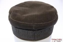 Captain's cap Prinz Heinrich grey corduroy 56