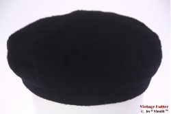 Captains cap black felt 59