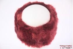 Hoofdband Polar Expo roodbruin imitatie bont 55-59 [nieuw]