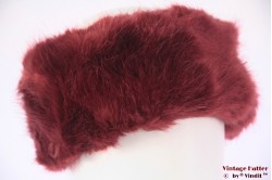 Headband Polar Expo brown red faux fur 55-59 [new]