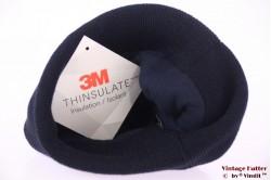 Beanie hat 3M Thinsulate navy blue 54-60 [New]