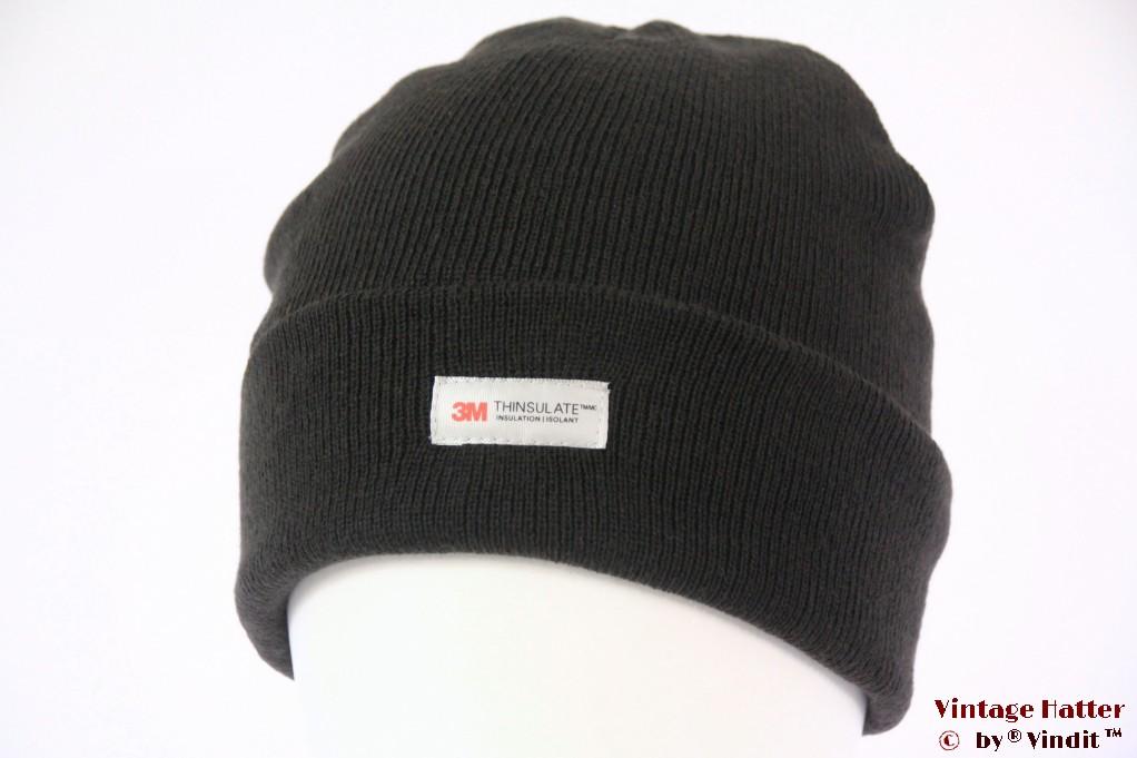 Beanie hat 3M Thinsulate dark greenish grey 54-60 [New]