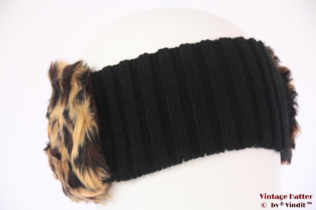 Headband Hawkins faux fur orange 56-63 [new]