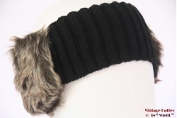 Headband Hawkins faux fur brown 56-63 [new]