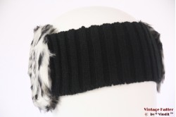 Headband Hawkins faux fur white 56-63 [new]
