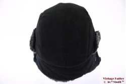 Aviator cap Hawkins black fleece 59 [New]