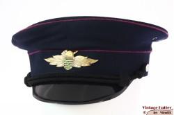 Uniform hat VEB - Sachsen Feuerwehr blue 58,5