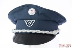 Austrian uniform hat Slama-Kappe blue 55 (S)