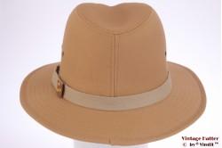 Outdoor hoed Hawkins zalmbeige katoen 58 [nieuw]