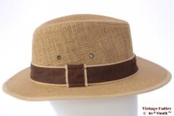 Outdoor hoed Hawkins beige jute 60 (XL) [nieuw]