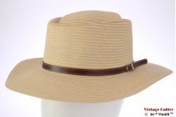 Outback hoed Hawkins geel gecoat papier 59 [nieuw]