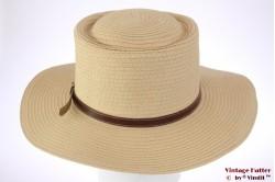 Outback hoed Hawkins geel gecoat papier 58 [nieuw]
