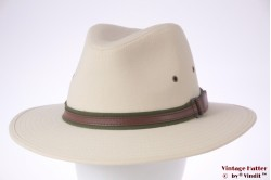 Outdoor hat Hawkins beige cotton 57 [new]