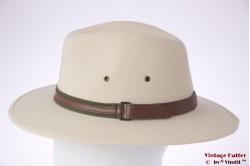 Outdoor hat Hawkins beige cotton 57 [new]