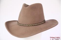 Outdoor Western hoed Bailey Dawson beige wolvilt 58