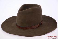 Australische outdoor hoed Akubra grijzig groen 54 (XS)