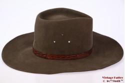 Australian outdoor hat Akubra greyish green 54 (XS)