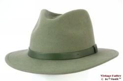 Outdoor Fedora Brixton Messer sage soft green 58-59 (M) [New Sample]
