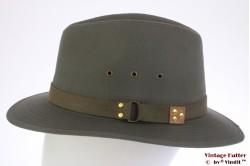 Outdoor hoed Hawkins groengrijs katoen 60 (XL) [nieuw]