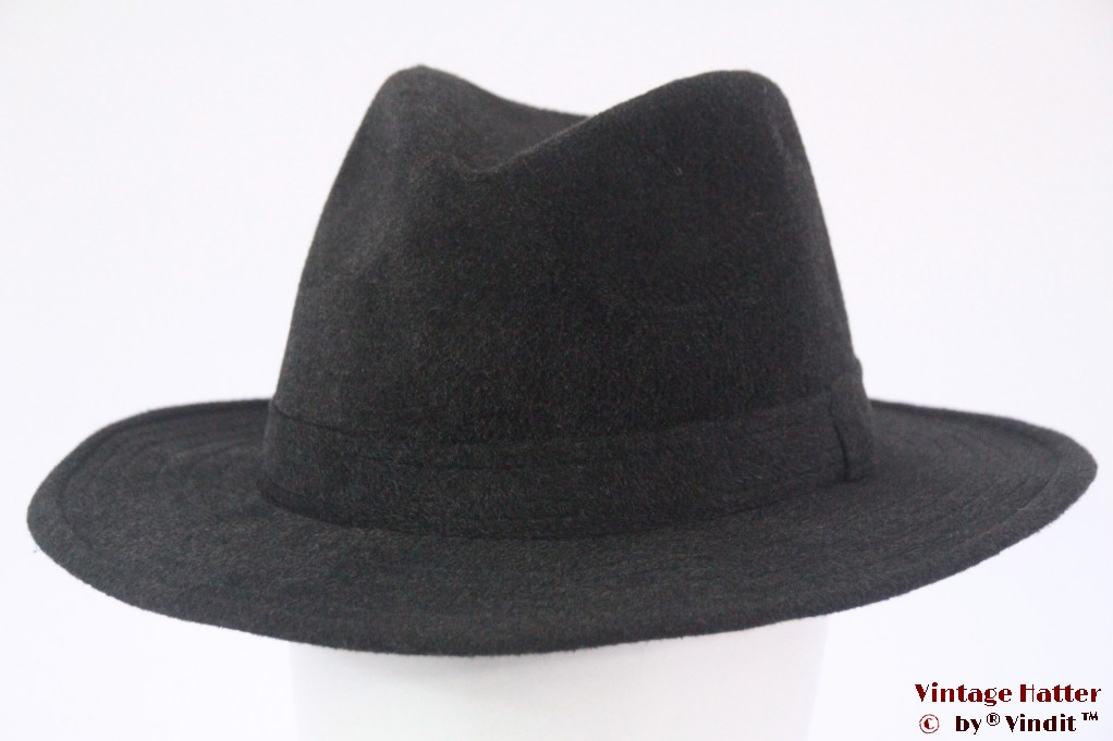 Outdoor fedora type hat dark grey 58