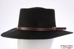 Outback hoed Hawkins zwartgrijs gecoat papier 59 [nieuw]