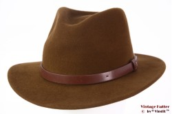 Outdoor Fedora Brixton Messer coffee brown 58-59 (M) [New Sample]