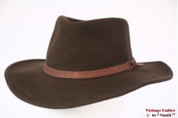 Outdoor hat Leisure Felt brown woolfelt 57,5